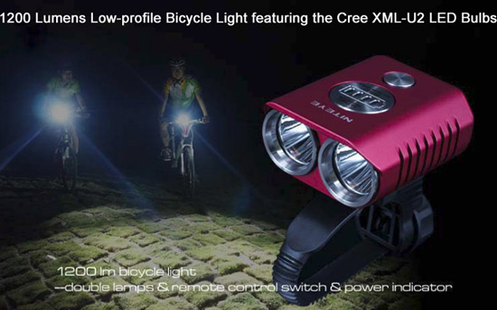 High power LED light for cycling, snowboarding, rockclimbing, skiing and snowboarding