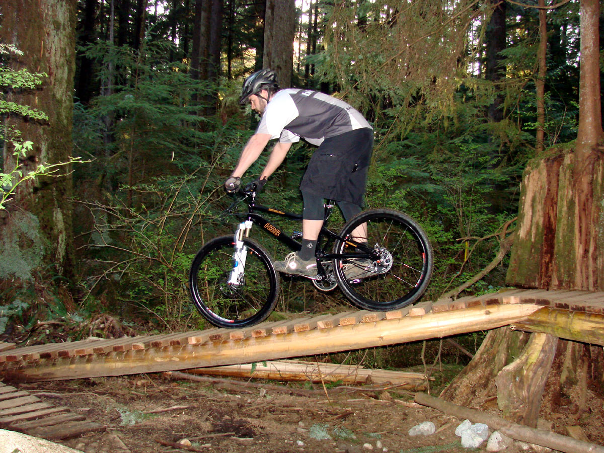 Mountain bike trail photo gallery: photos of the HSB Rhythm
